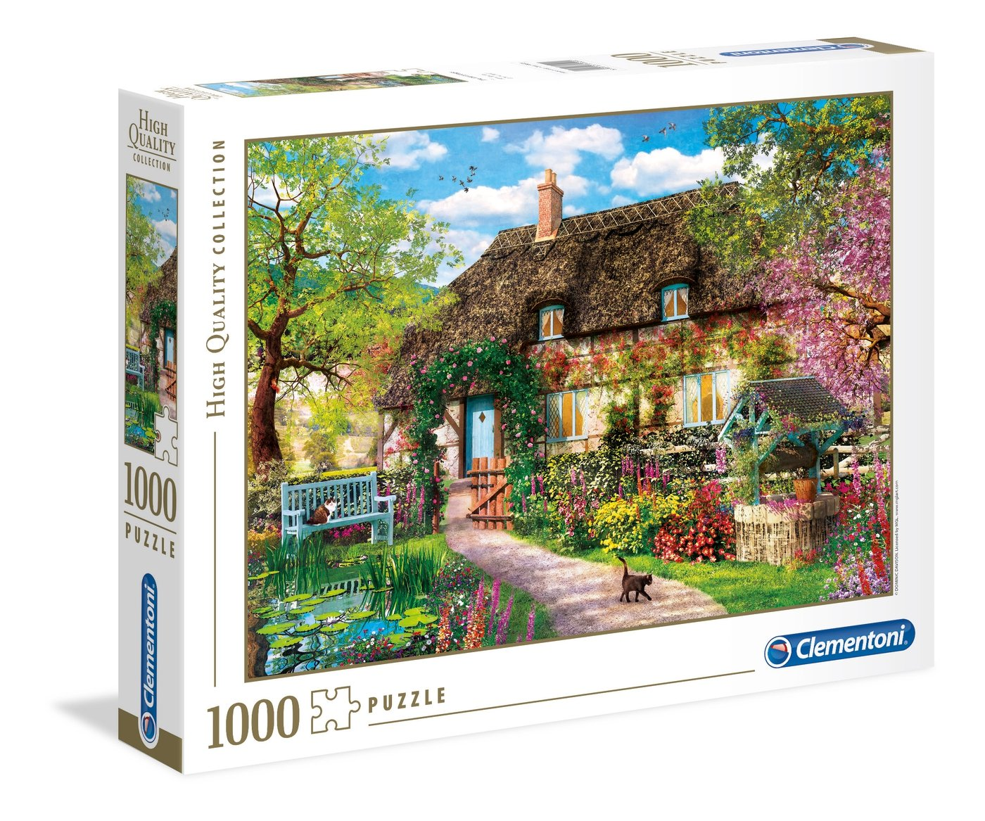 Clementoni The Old Cottage Puzzle 1000 pezzo