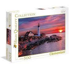 Clementoni Puzzle High Quality Collection Portland Head Light 500 pezzi