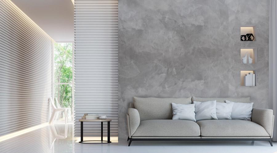 Pittura Decorativa Milano effetto Seta base Argento