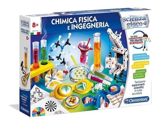 Clementoni 19033 Gioco Laboratorio di Chimica Fisica e Ingegneria