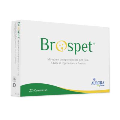 BROSPET (20 cpr) – Favorisce il drenaggio dei liquidi intestinali