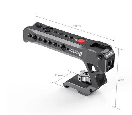 SmallRig Impugnatura Top Handle con Remote Trigger Start/Stop 3322