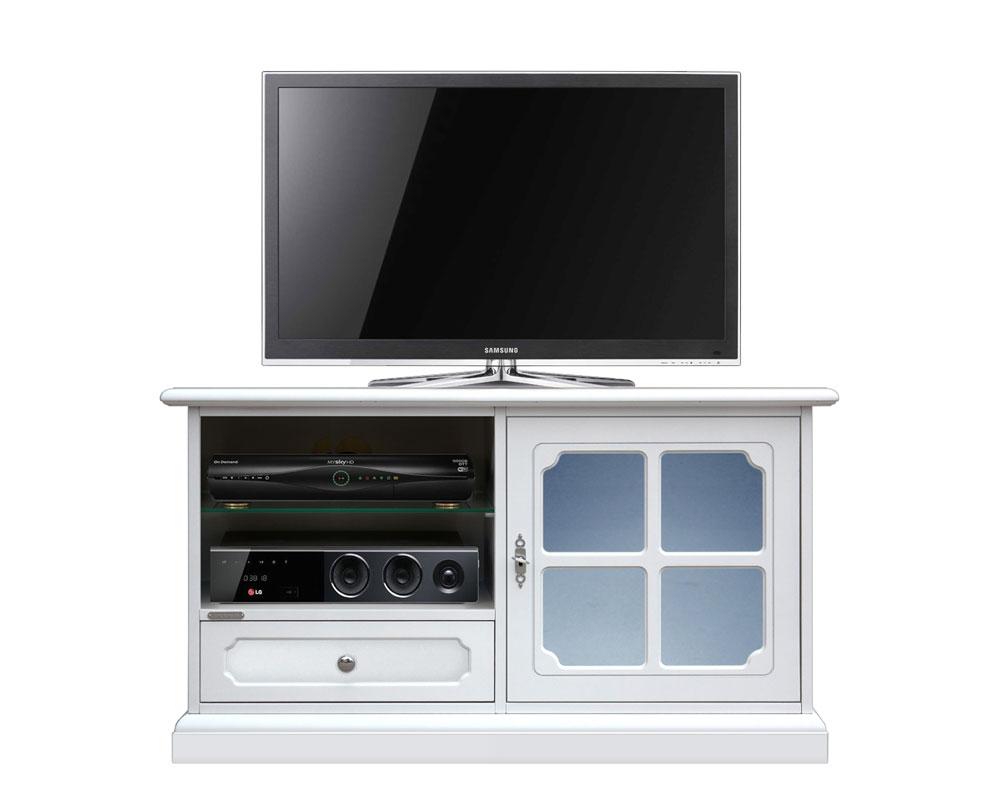 TV Möbel klein in lackierten Farben