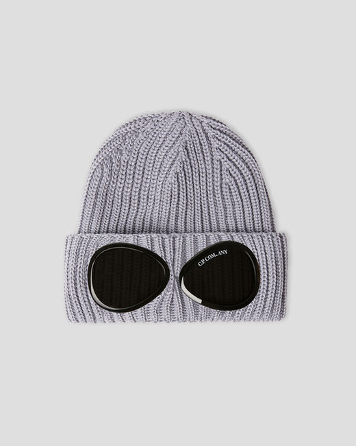 SHOPPING ON LINE CP COMPANY C.P.GOGGLE BEANNIE EXTRA FINE MERINOS WOOL NEW COLLECTION FALL/WINTER 2022