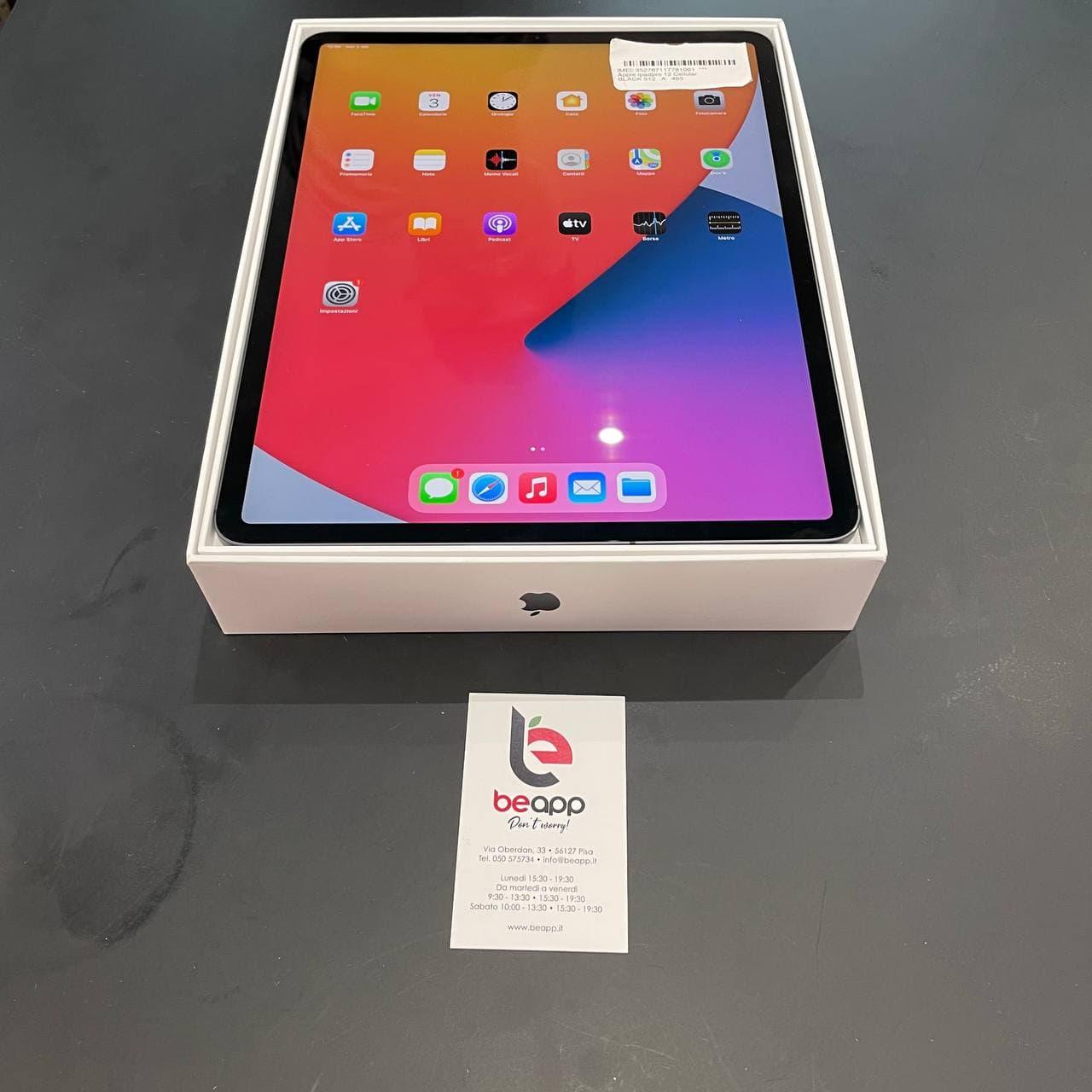 Apple Ipadpro 12 Cellular - (Ricondizionato)