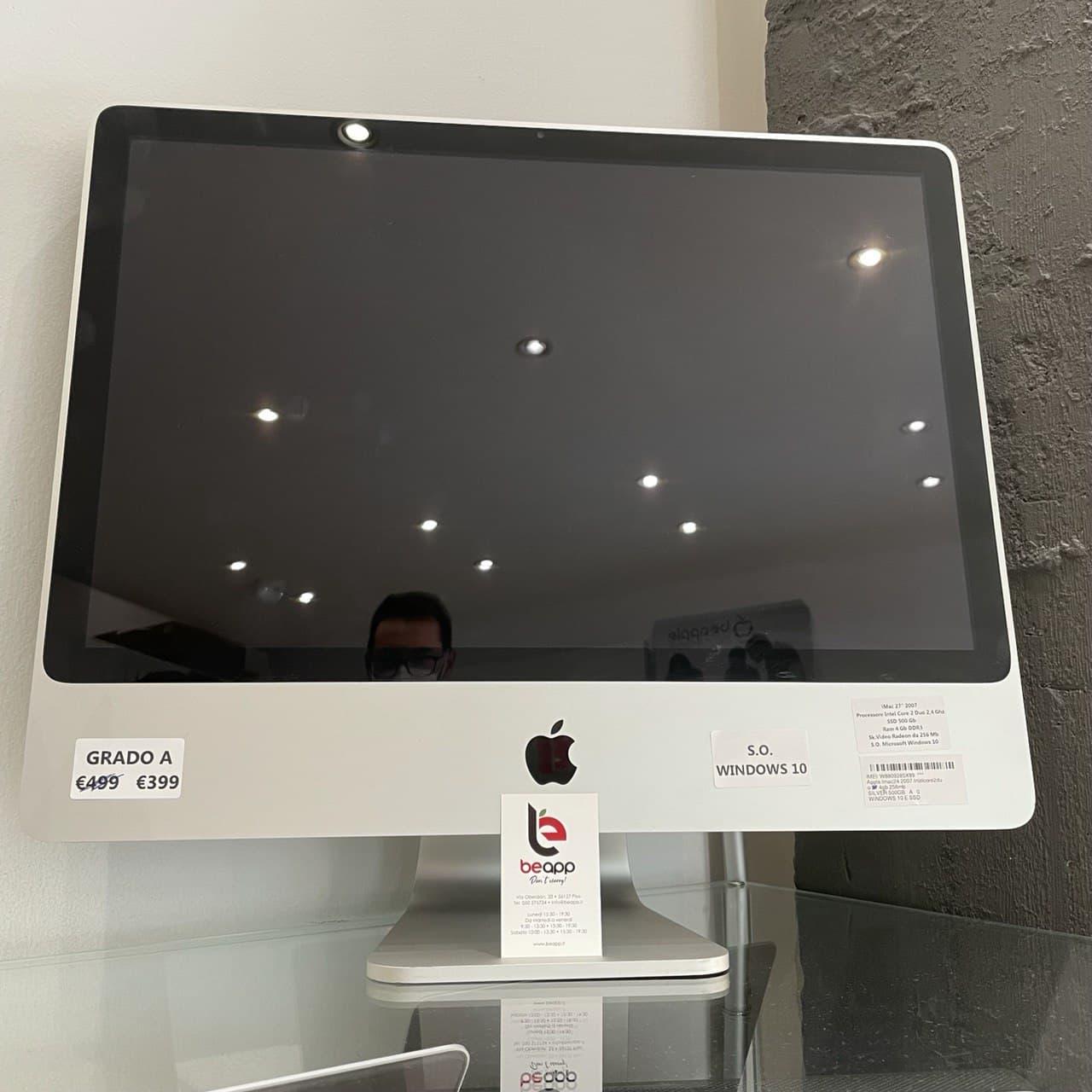 Apple iMac 2007 Intelcore2duo 24 - RAM 4GB  - (Ricondizionato)