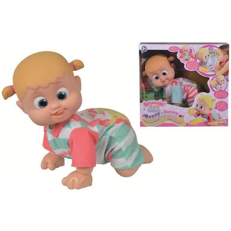 Simba Toys bambola Bouncin Babies - Bonny Vieni Dalla Mamma