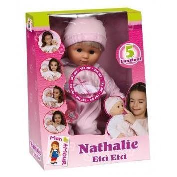 Nathalie Mon Amour Etci Etci Bambola Bambolotto Parlante