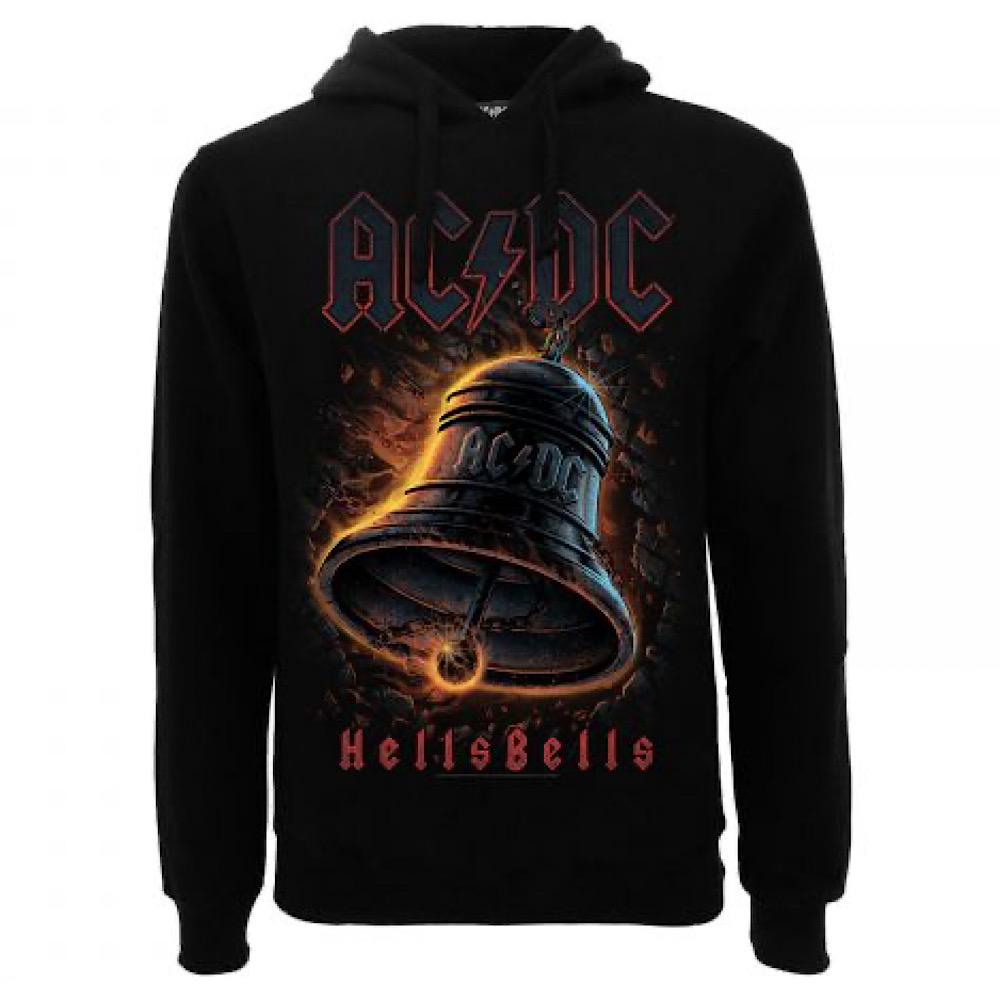 Felpa AC DC Hells Bells taglia XS S M L XL XXL