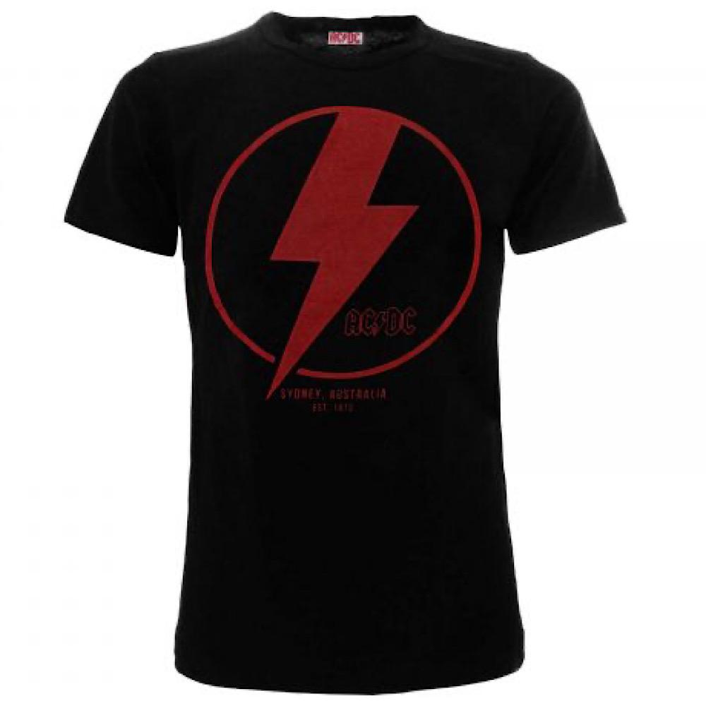 T-shirt AC/DC Hells Bells Saetta taglia XS S