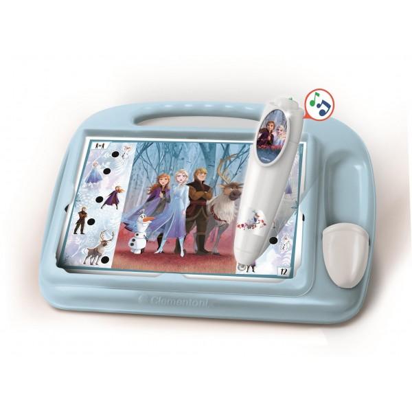 Sapientino - Travel Quiz Disney Frozen 2, penna interattiva, elettronico parlante, gioco educativo