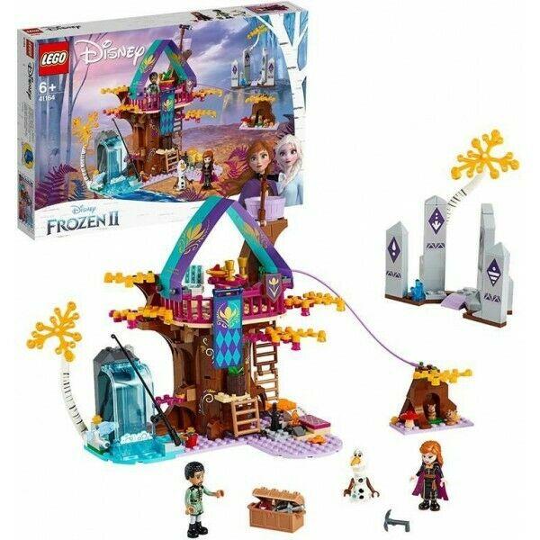 LEGO Disney Frozen II La Casa sull'albero Incantata con la Principessa Anna, Olaf e Mattias, 2 Figure di Coniglietti e Pesci