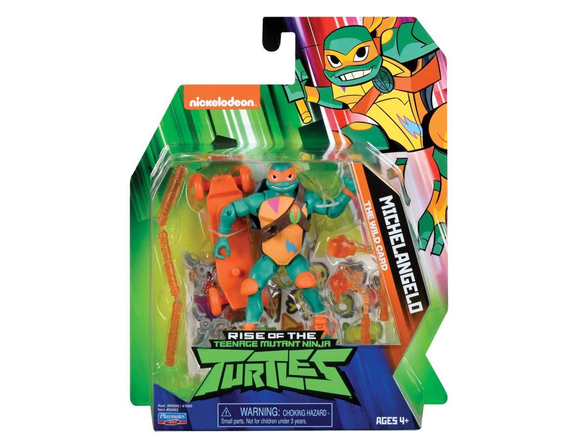 Personaggio Michelangelo Tartarughe Ninja Mutant Turtles Giocattolo 30 cm