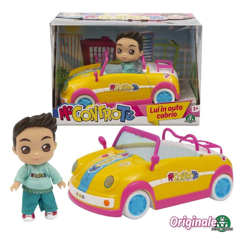 Me Contro Te- Giochi Preziosi Mini Doll 12 Cm Luì In Auto Cabrio