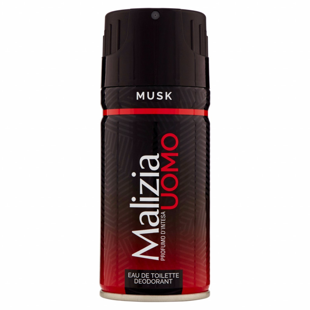 MALIZIA Uomo Musk profumo d'intesa deodorant 150ml