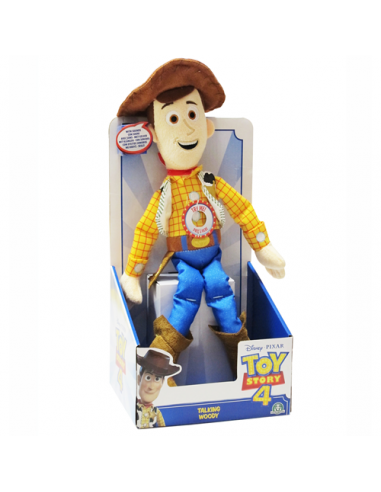 Toy Story 4 - Woody Personaggio Parlante - Lansay