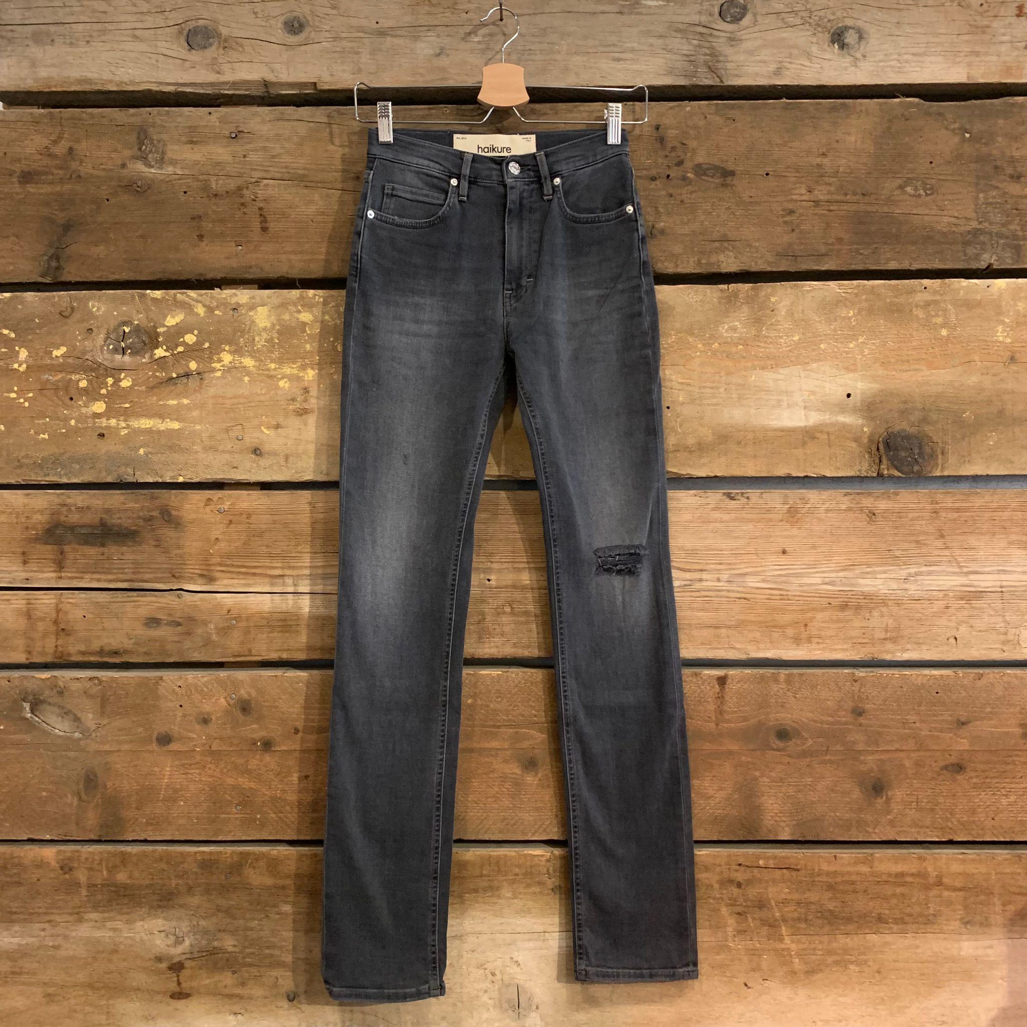 Jeans Haikure Donna Ibiza Straight Comfort Black Pure Black