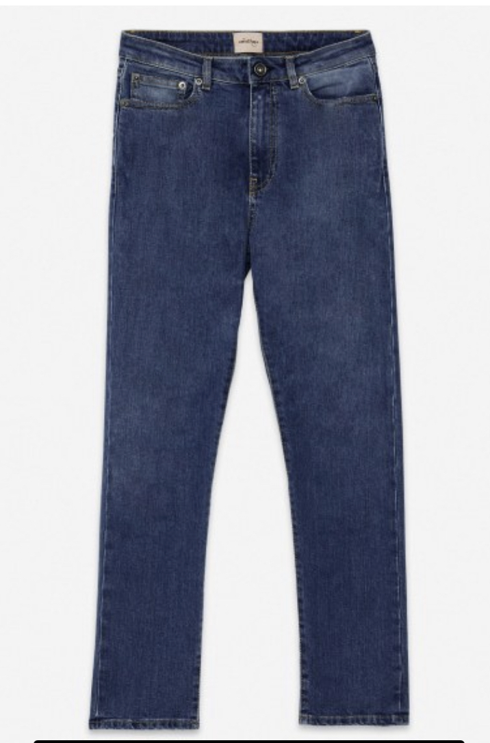 OTTODAME JEANS CROPPED FRENCH POCKET