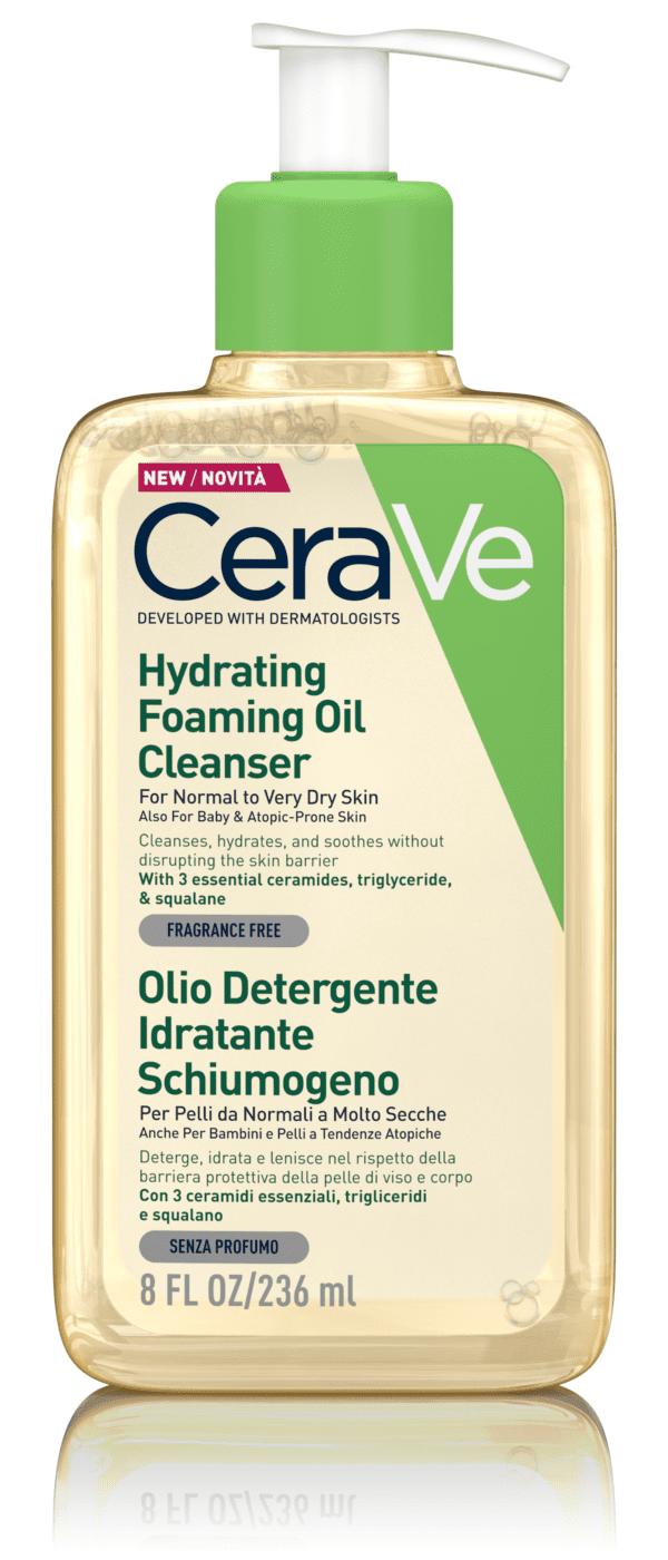 Cerave olio detergente idratante schiumogeno 236 ml
