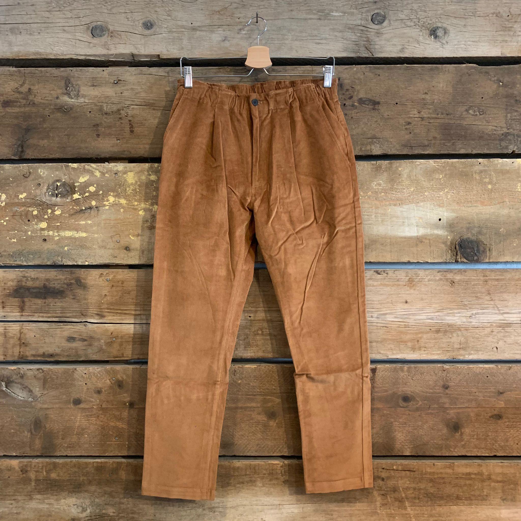 Pantalone Bakery Supplies Lowan Corduroy in Velluto Tabacco