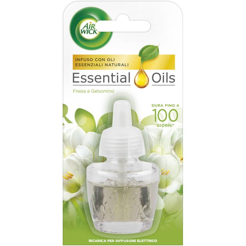 AIR WICK Essential Oils: Fresia e Gelsomino da 19ml