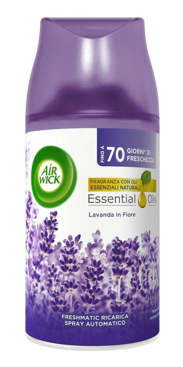 AIR WICK FRESHMATIC RICARICA - Essential Oils Lavanda in fiore 250ml