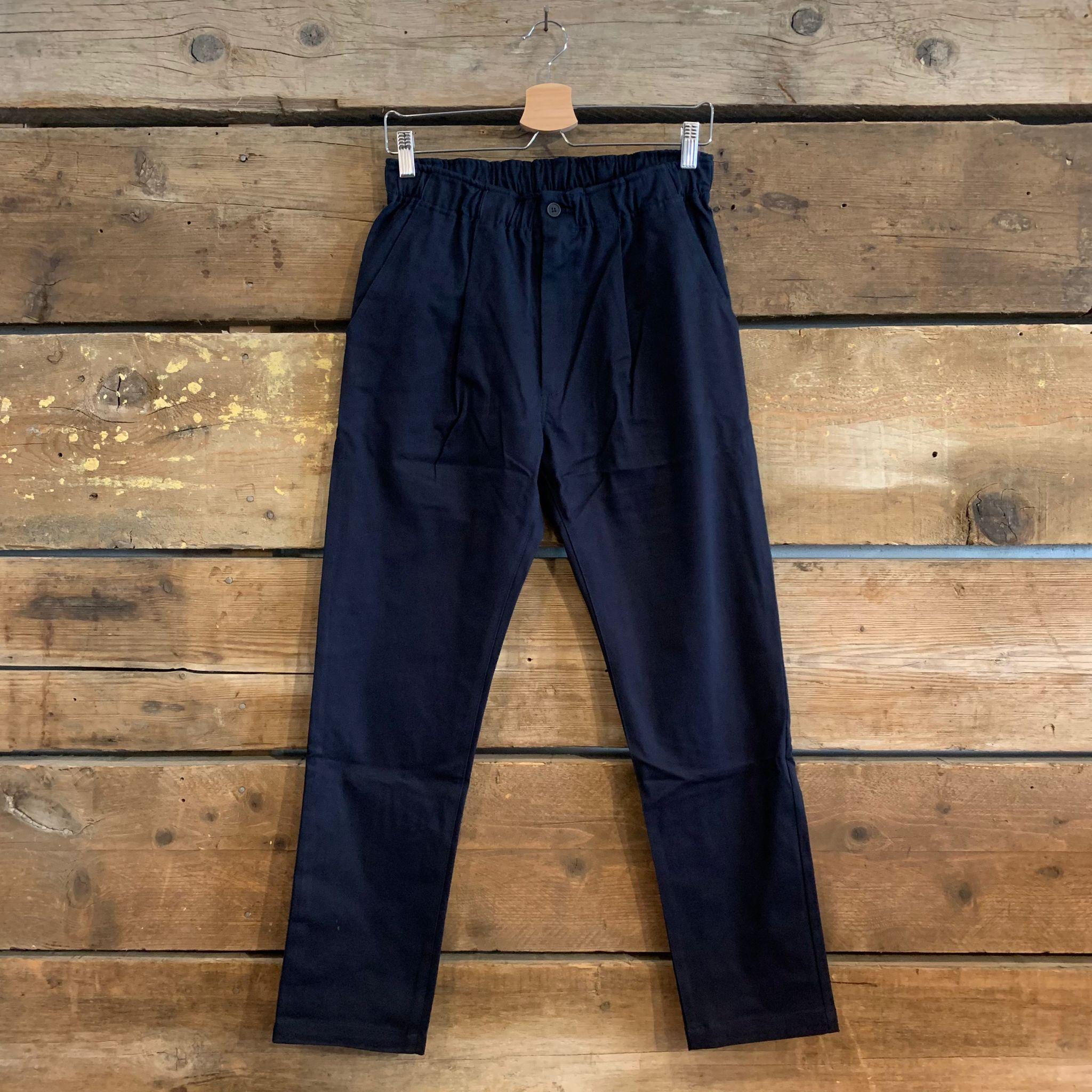 Pantalone Bakery Supplies Lowan Gabardine Blu Navy FW21