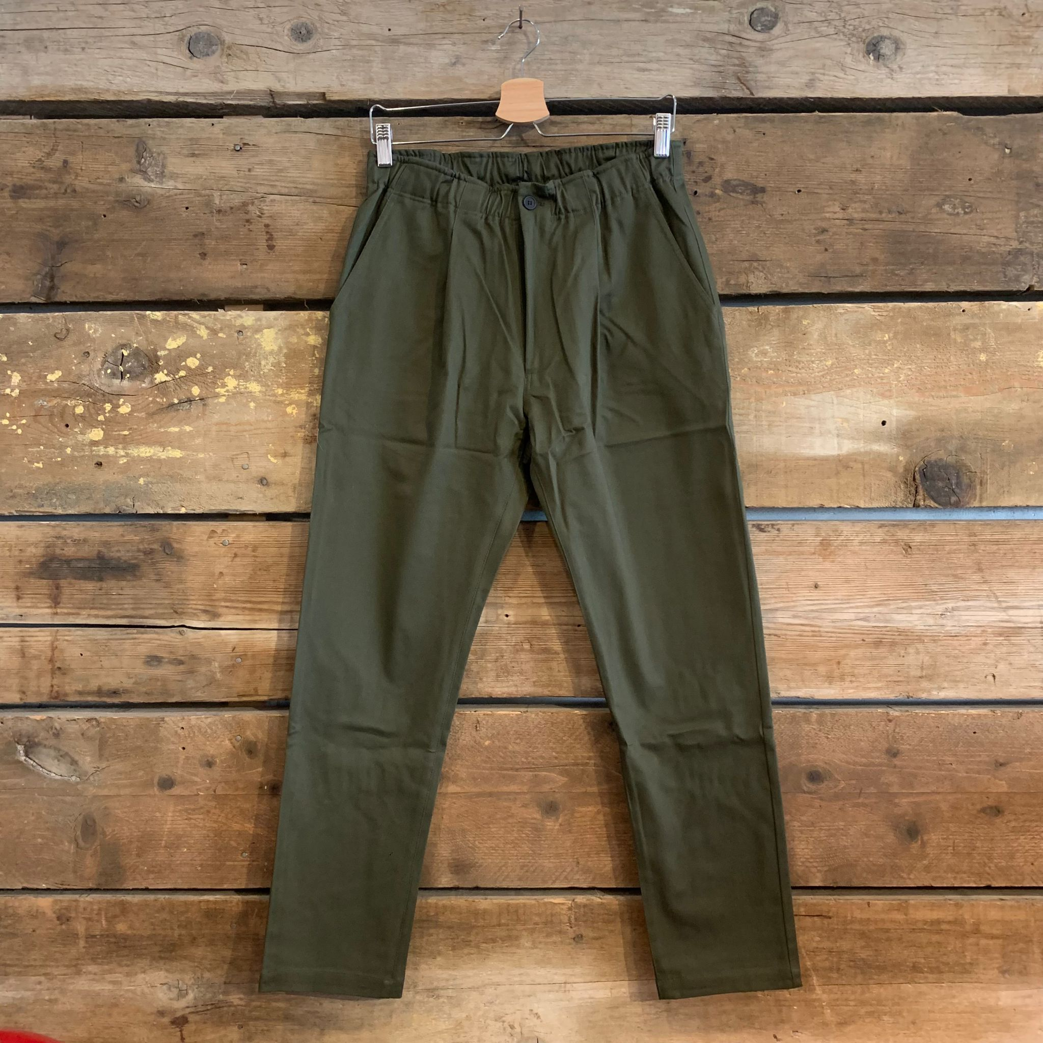 Pantalone Bakery Supplies Lowan Gabardine Verde Oliva FW21