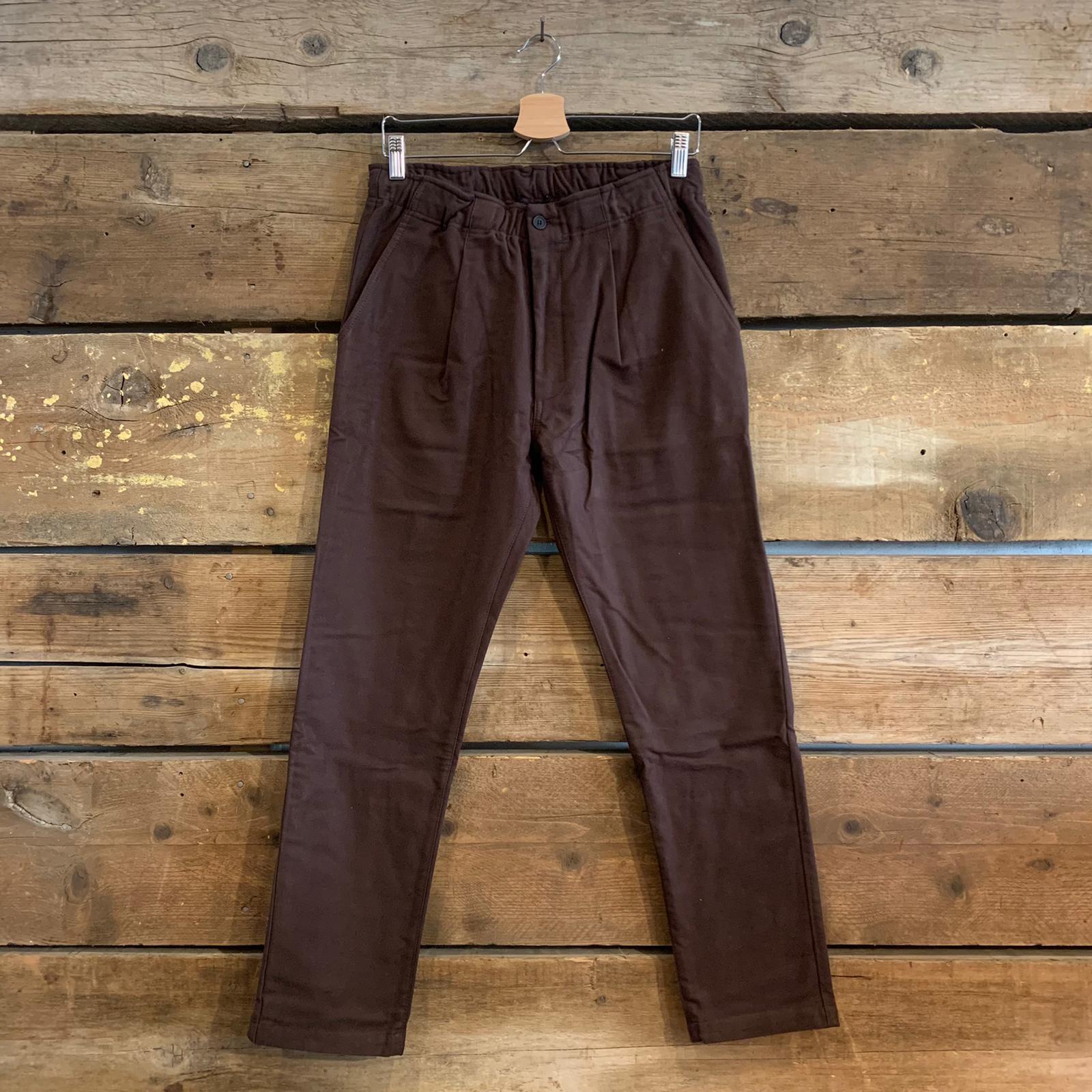Pantalone Bakery Supplies Lowan Suede Marrone Scuro