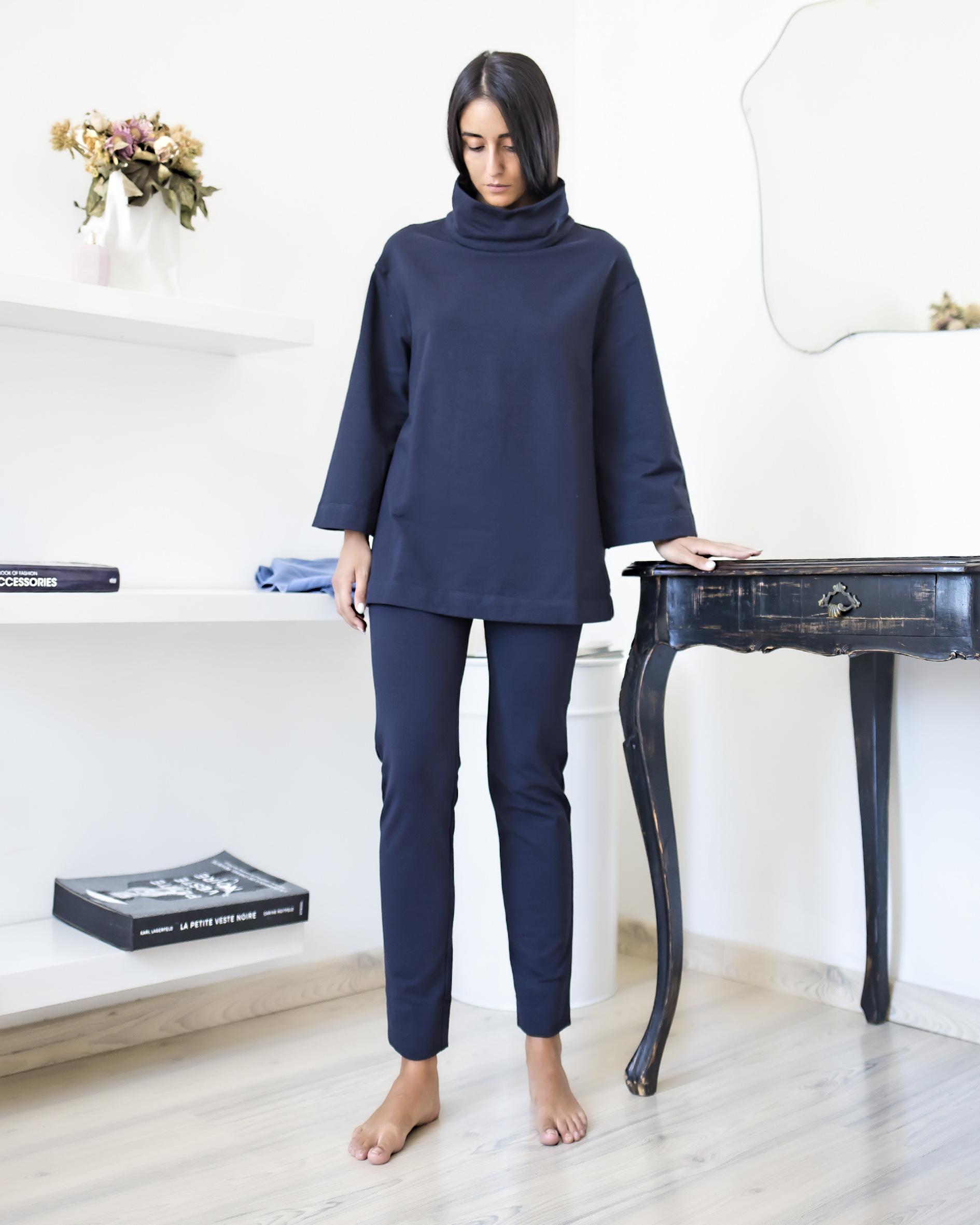 Panta skinny Felpa