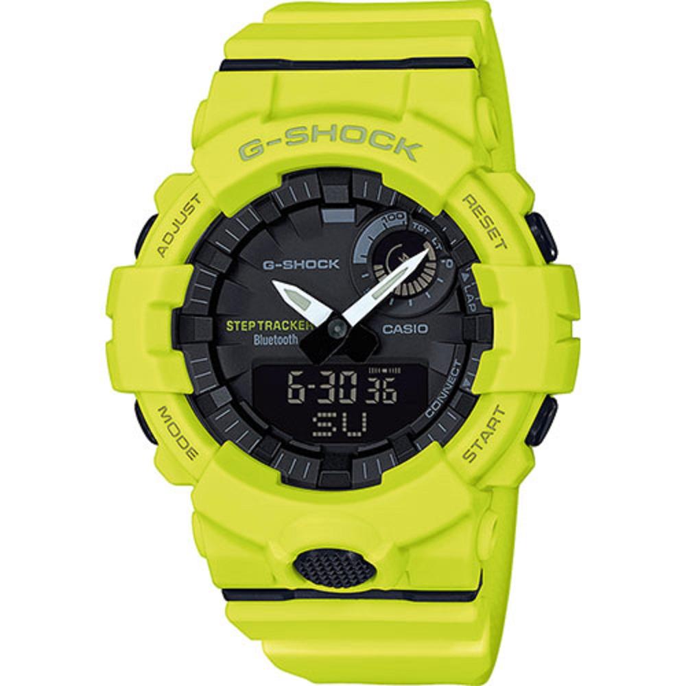 Casio G-Shock Style Premium, orologio digitale multifunzione giallo