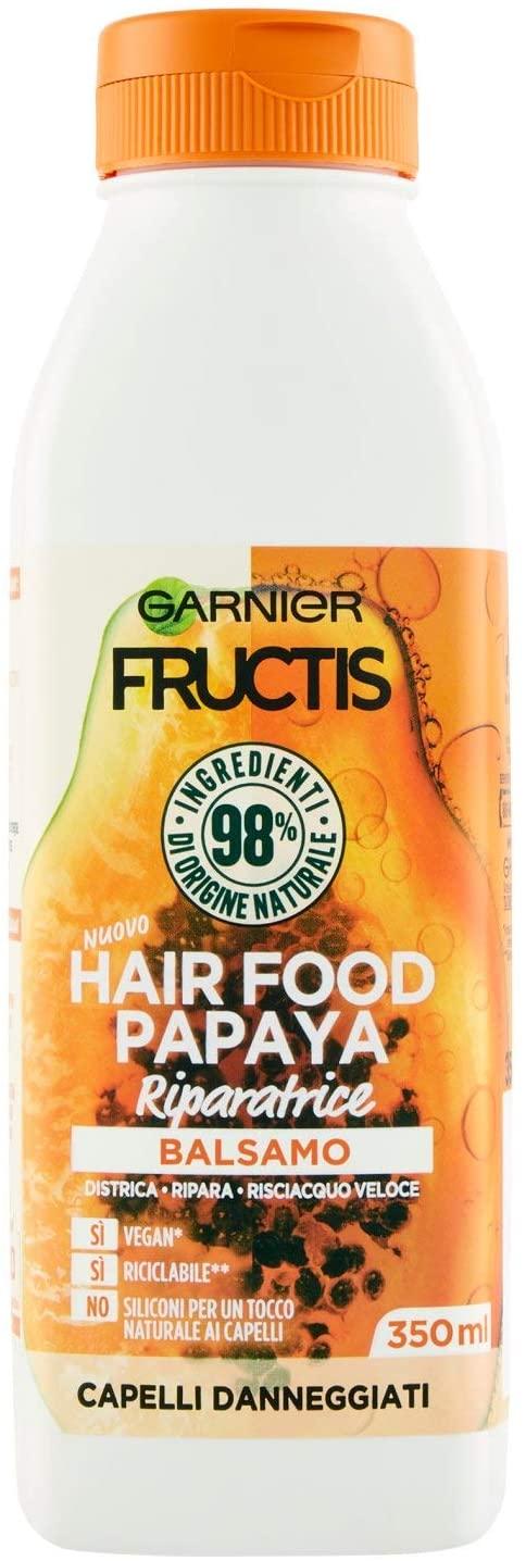 GARNIER FRUCTIS Balsamo - HAIR FOOD PAPAYA RIPARATRICE da 350ml