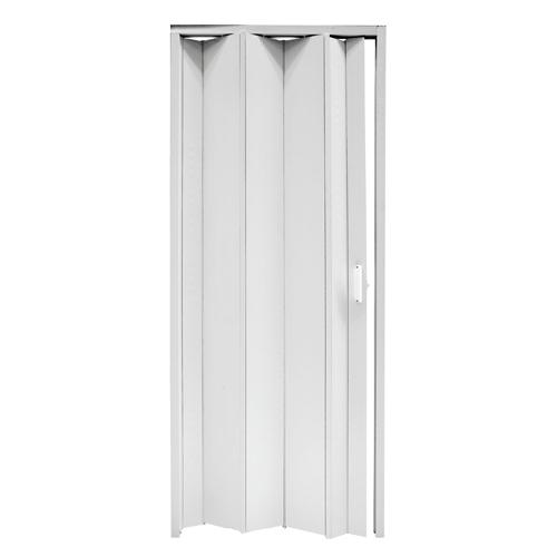 Porta a soffietto 94x220 riducibili colore Bianco
