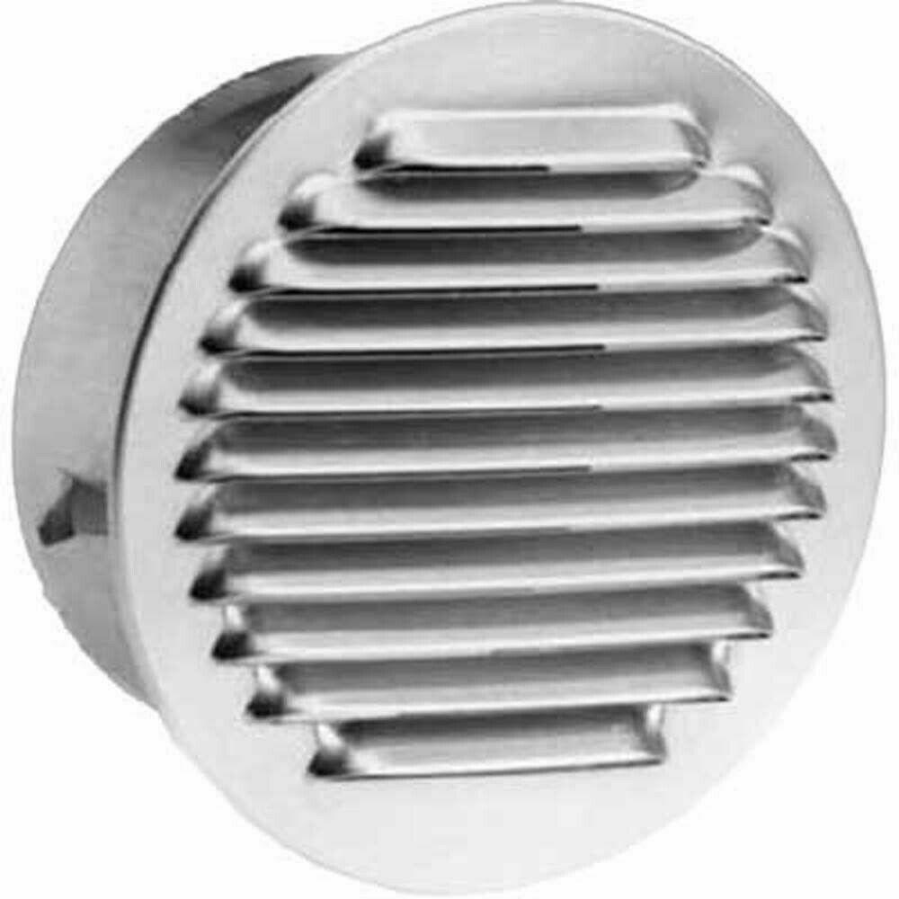 Griglia in Alluminio Aerazione Tonda 80-100-120mm