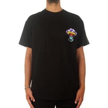 T-Shirt Mushroom Fungo Black