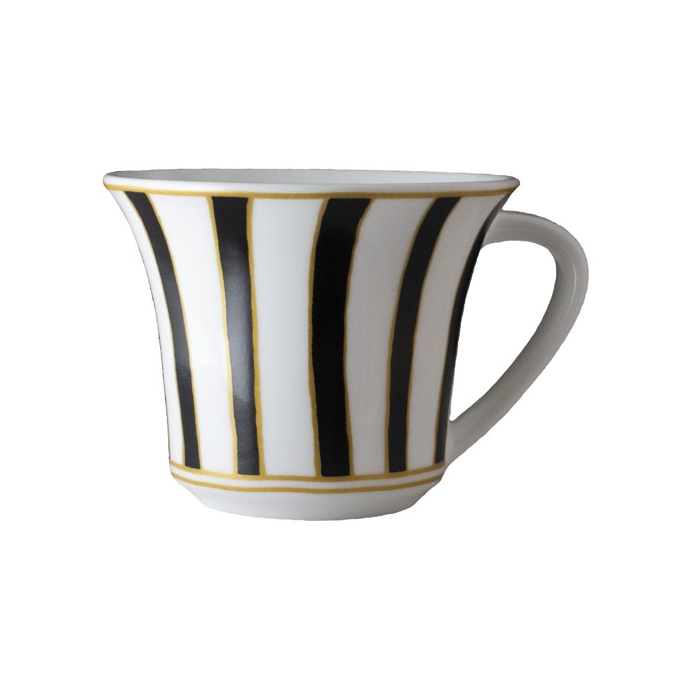 Tazza caffè cc 110   Striche Nere e Oro