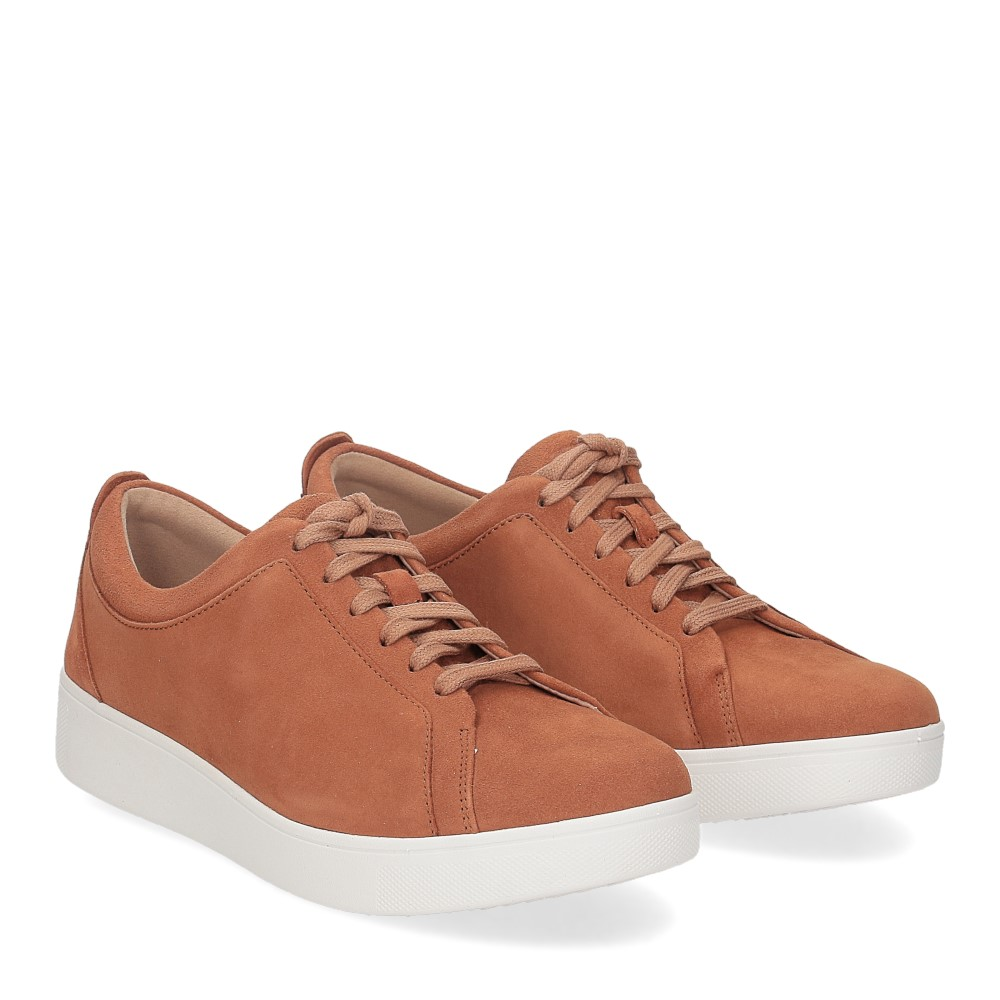 Fitflop Rally suede sneaker light tan