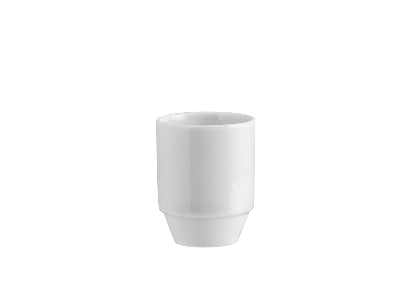 Portastecchini Porcellana Merano Bianco