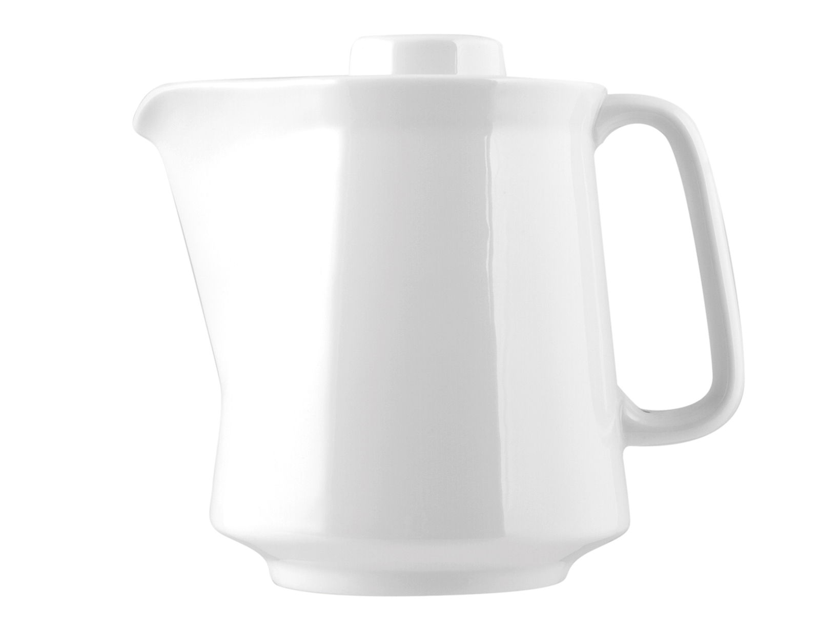 Caffettiera Porcellana Hel Bianco Lt 0,6        Kh