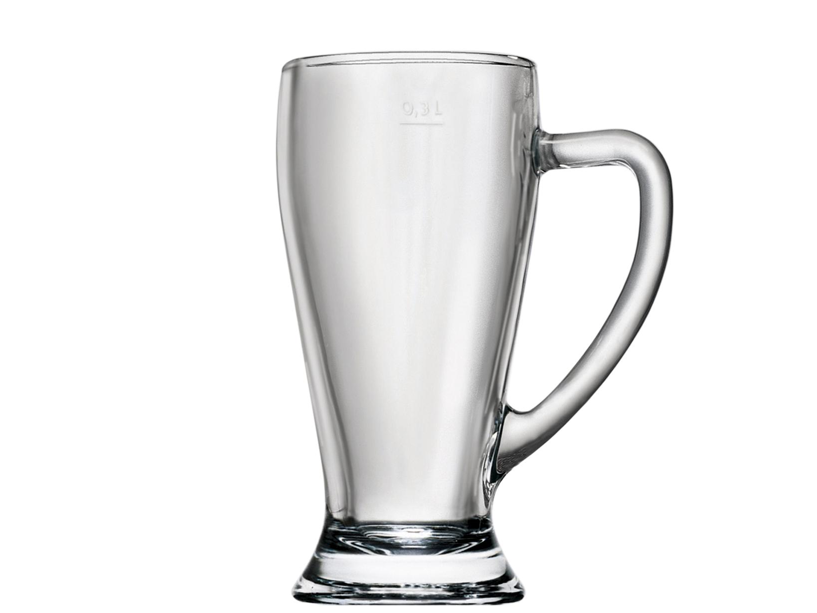 Confezione 6 Bicchieri Baviera Con Manico Cl 38