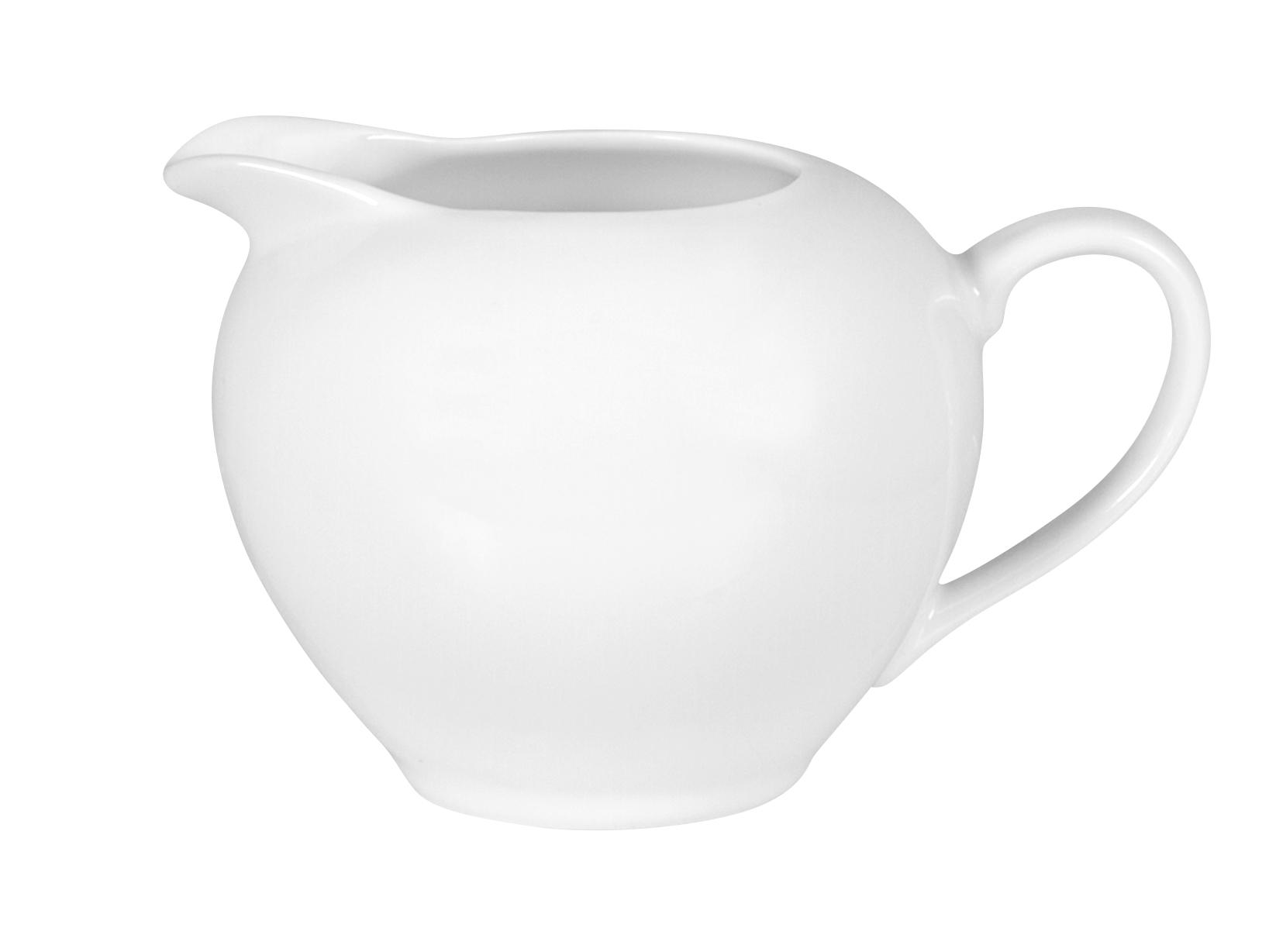 Lattiera In Porcellana, 280 Ml, Bianco
