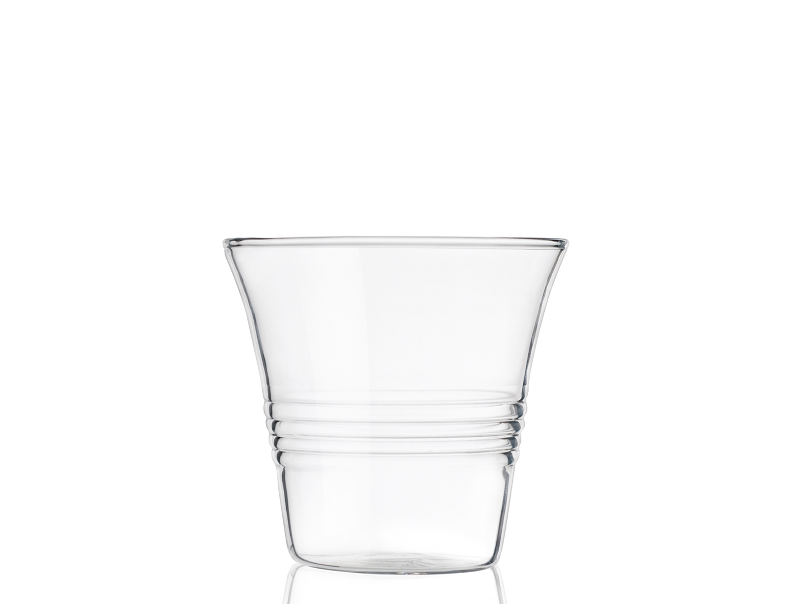 Set 4 Bicchieri In Borosilicato, 100 Ml, Trasparente