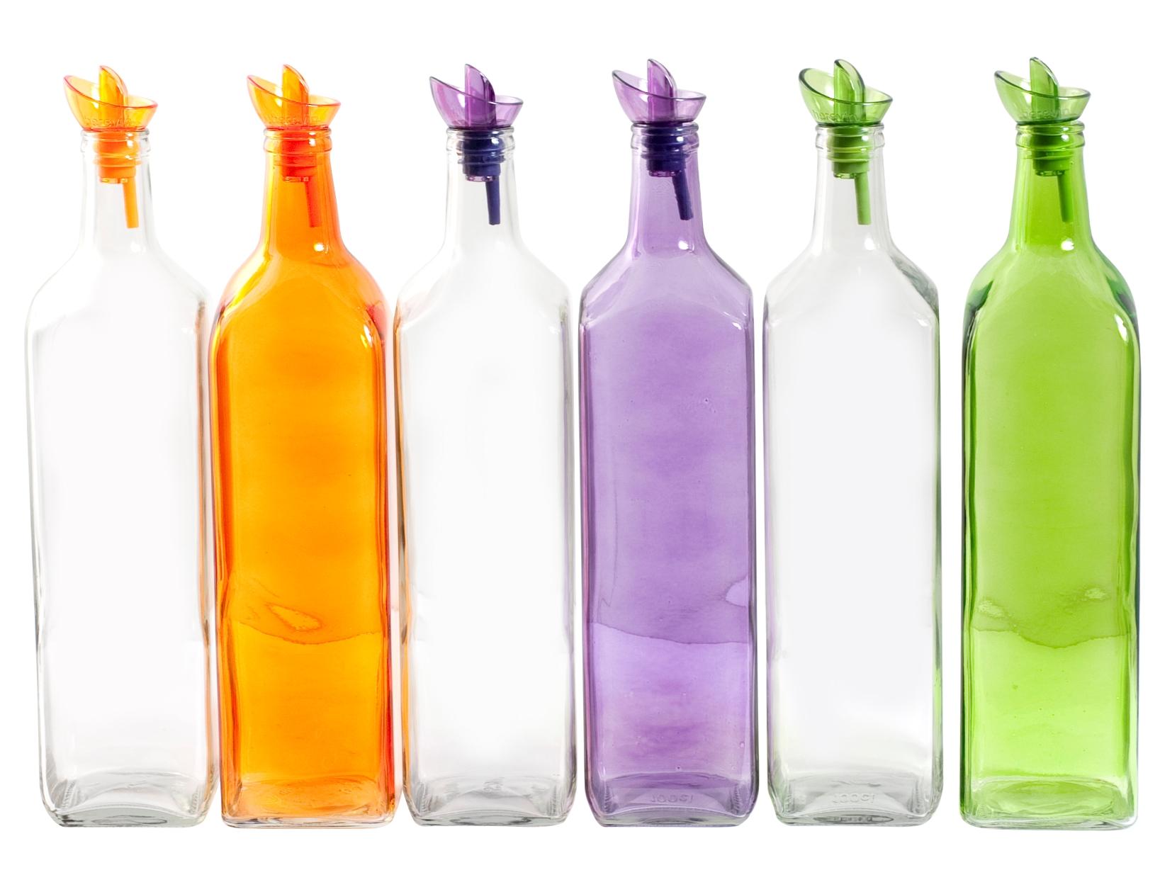 Bottiglia Olio In Vetro T/d Assortiti 1,0 151079