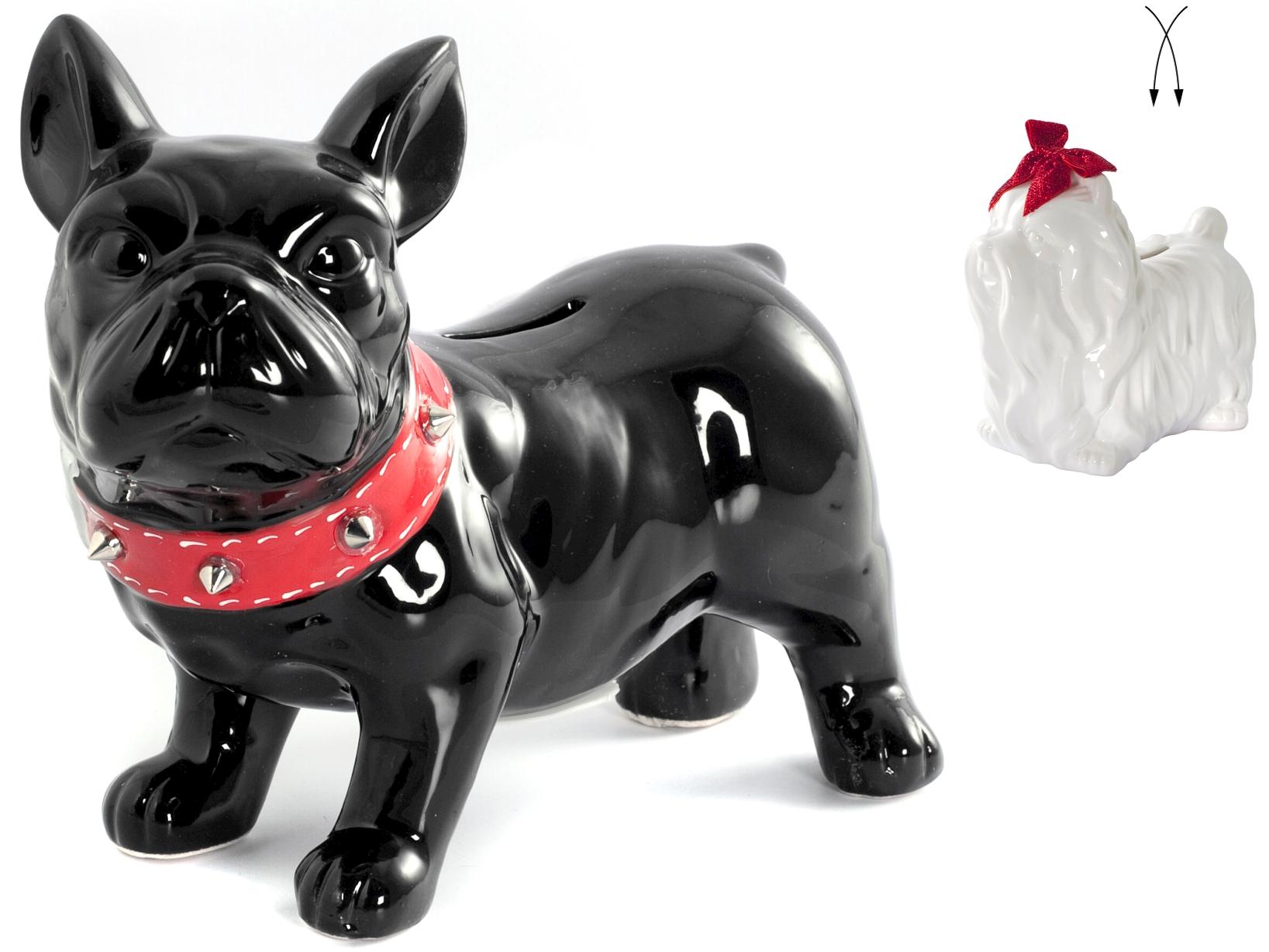 Salvadanaio Ceramica Dog 2 Assortito