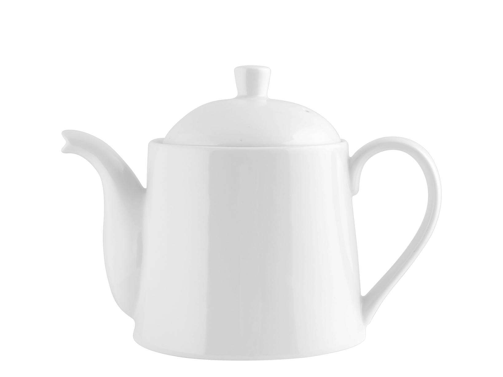 Teiera Porcellana Bianco Cc1250           6346