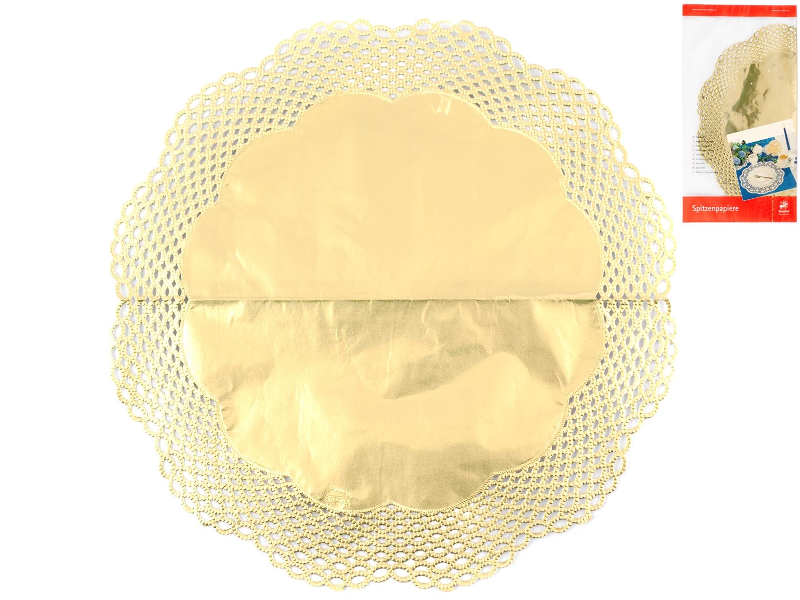 Confezione 3 Sottotorta Cm36 Oro   3691