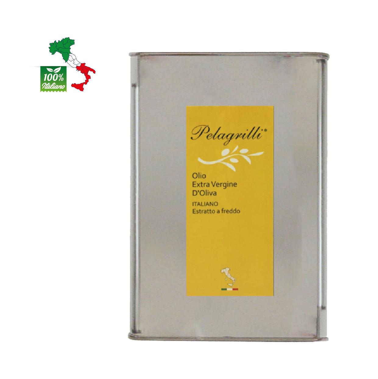 100% ITALIANO LT 3  Olio extravergine di oliva- Raccolto 2020-2021 - estratto a freddo - FILTRATO