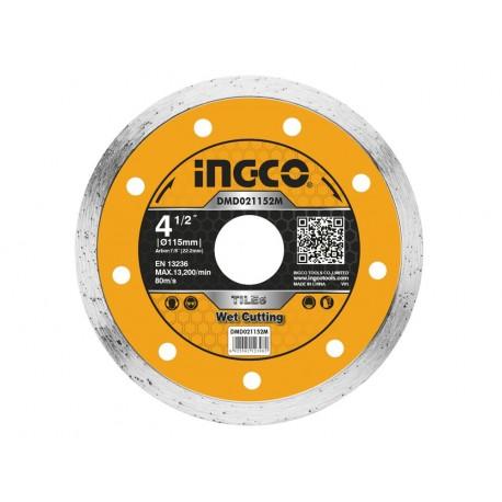 Disco Diamantato per Ceramica 115mm a Umido INGCO