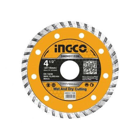 Disco Diamantato Universale per Ceramica 115mm INGCO