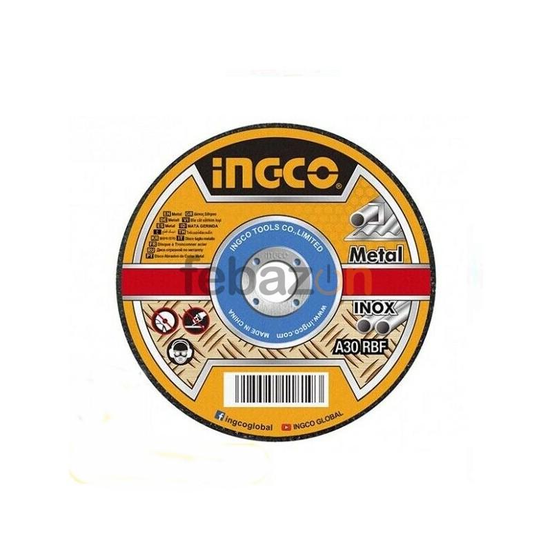 Disco Taglio per Metallo e Inox 115x1,2mm INGCO